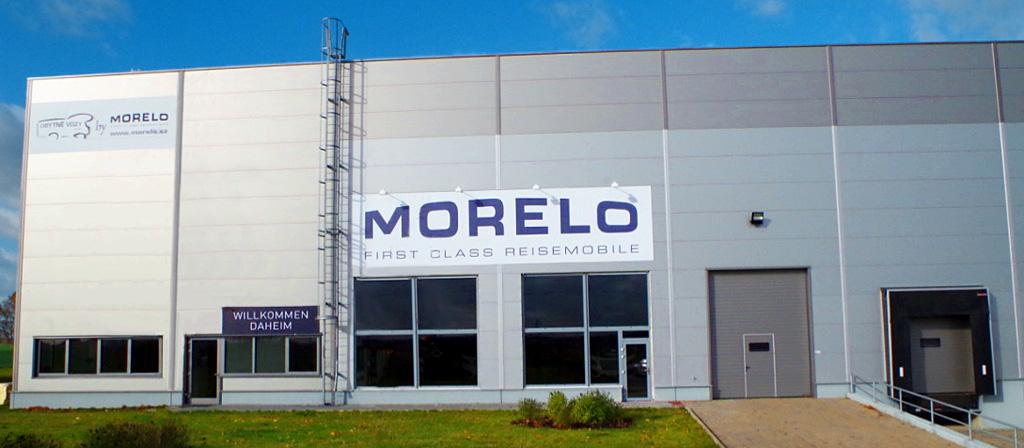 Nový showroom MORELO vČeské Republice