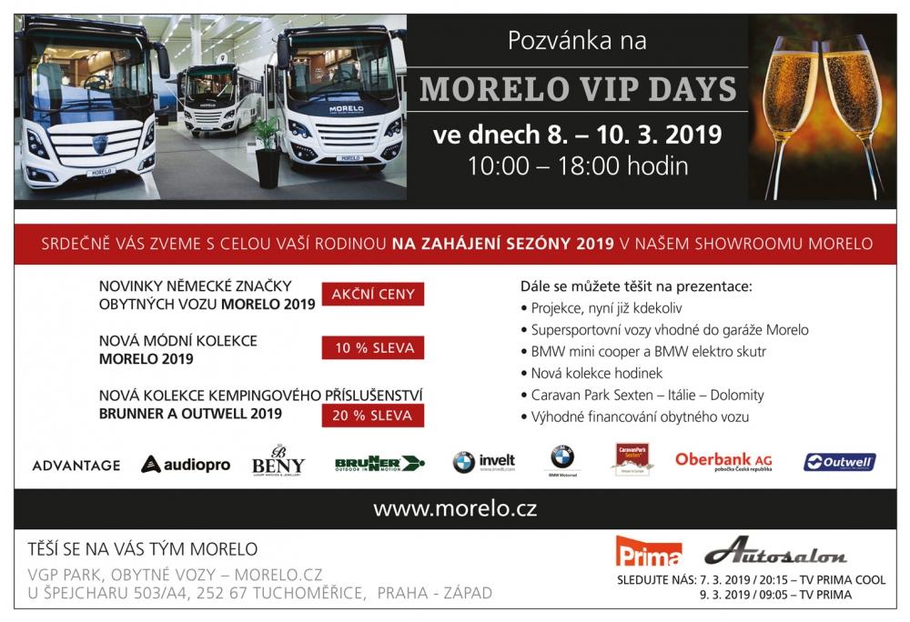 Pozvánka na MORELO VIP DAYS